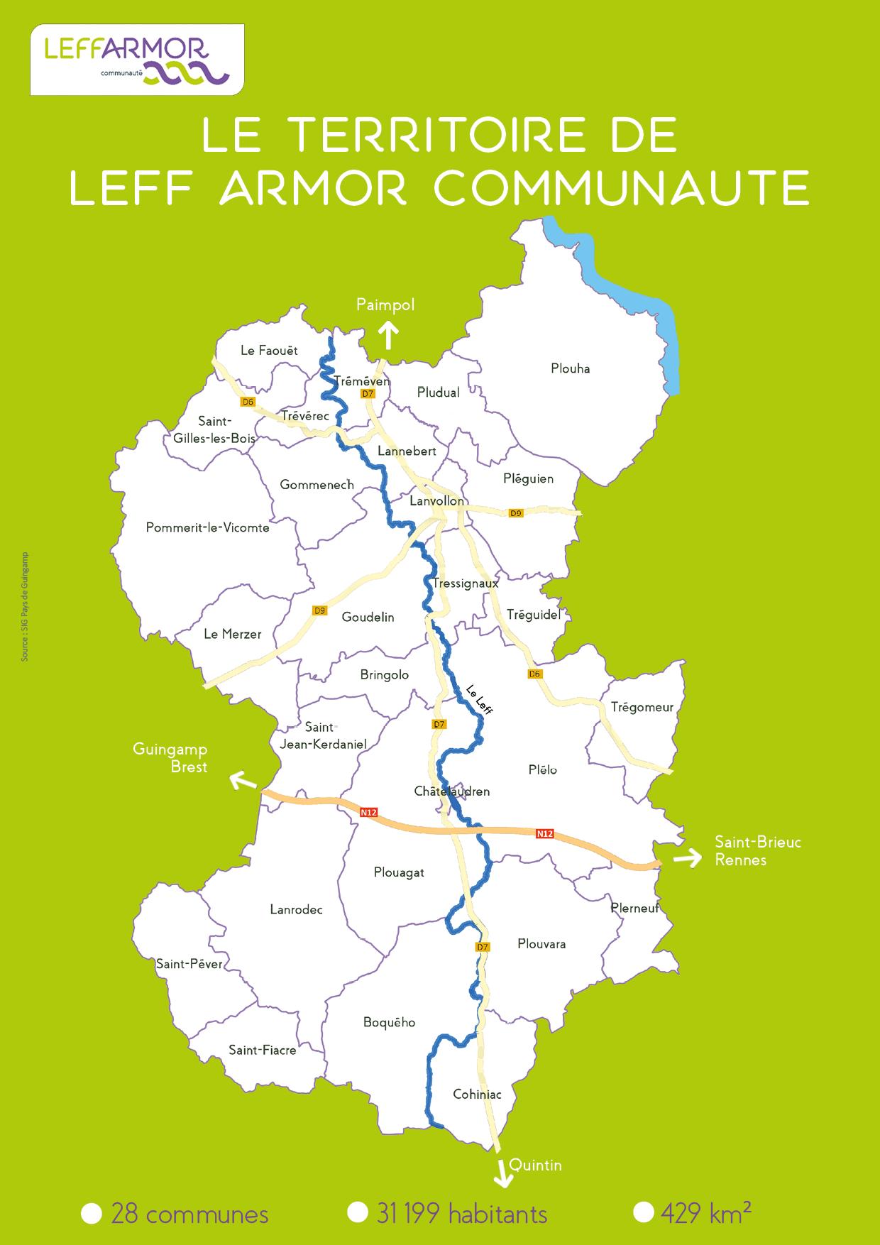 Leff Armor carte territoire avril-2018